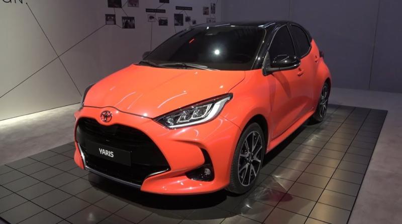 Обзор Toyota Yaris 2021